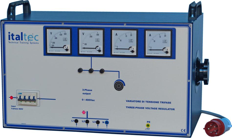 Schema Elettrico Elevatore Di Tensione : Variatori di tensione monofase e trifase